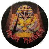 Iron Maiden - 'Powerslave Dark' 32mm Badge